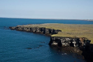 Low cliff