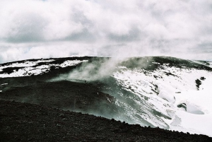 On the top of Hekla