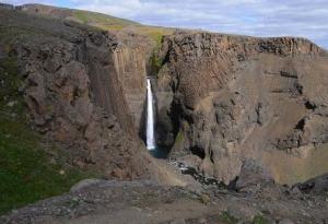 Hengifoss Landscape