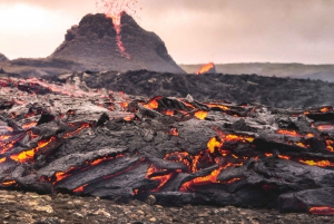 Hiking Tour to Iceland's Newest Active Volcano