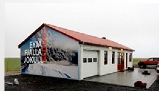 Iceland Erupts at Thorvaldseyri