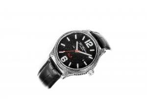 Black ornate watch