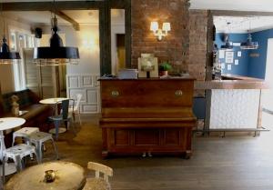 Charming bar Kaldi's piano
