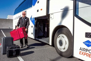 KEF Airport: Reykjavik City Bus Transfer