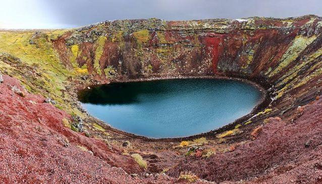 Kerið Volcano & Lake