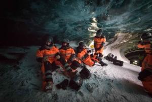 Langjokull Glacier: Snowmobile & Natural Ice Cave Tour