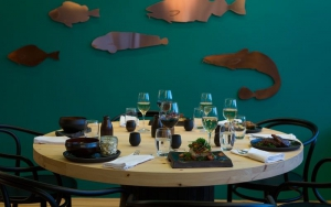 The Classy & Cozy interior of Mar Restaurant by Reykjavik Old Harbour