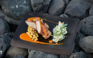 Mar Restaurant runs by the philosophy that your delicious food tastes even better if it's beautifully presented!