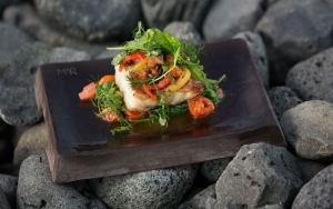 Delicious and beautiful food at Mar Restaurant, Reykjavik