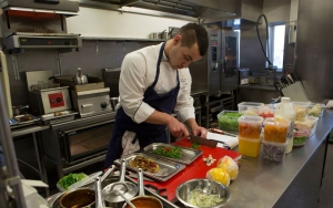 Skilled and ambitious chef at Mar Restaurant in Iceland