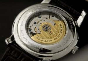 Michelsen 100 year anniversary watch - underside