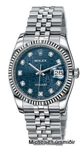 One of the many Rolex makes sold at the Michelsen store.