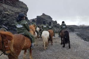 Red Lava Horse Riding Tour