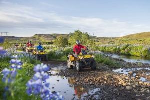 Reykjavik: 3-Hour Volcanic Springs Quad Bike Tour