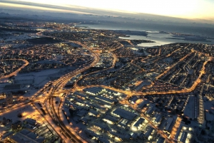 Reykjavik: Helicopter Tour Flying Over the City