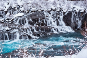 Reykjavik Ice Cave and Snowmobile Tour on Langjokull Glacier