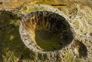 Reykjavik: Volcanic Craters Fly Over Tour by Helicopter