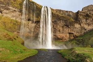 Reykjavik: Wild South Waterfalls, Black Beach & Glacier Hike