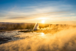 Small-Group Golden Circle & Snowmobiling Tour from Reykjavik