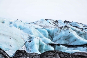 South Coast, Glacier Hike and Northern Lights Winter Tour