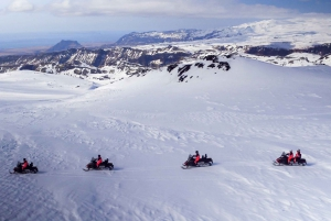 South Coast of Iceland and Glacier Snowmobile Ride