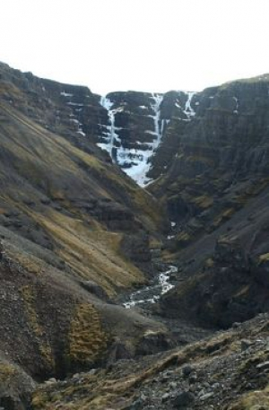 Strutsfoss Waterfall