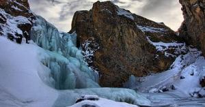 Winter at Trollafoss
