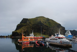 Fishing boats at the harbour, Westman Islands (Vestmannaeyjar), South Iceland.
