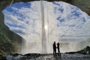 Wild South Waterfalls, Black Beach & Glacier Hike