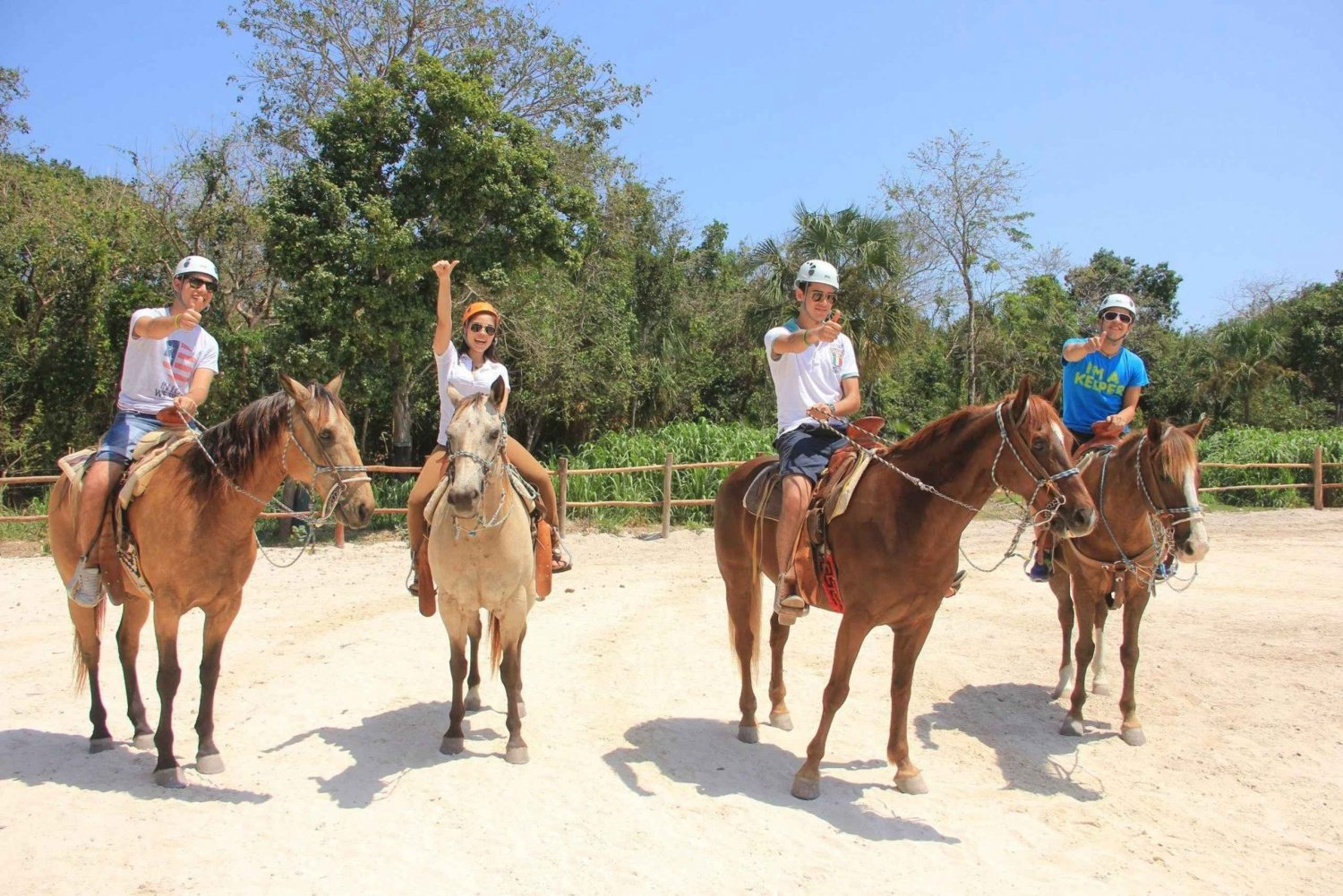2-Hour Horseback Riding in the Jungle