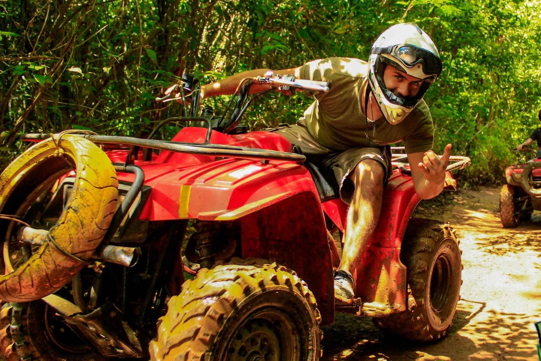 Atv, Zipline and Cenote Combo Adventure, Double Rider