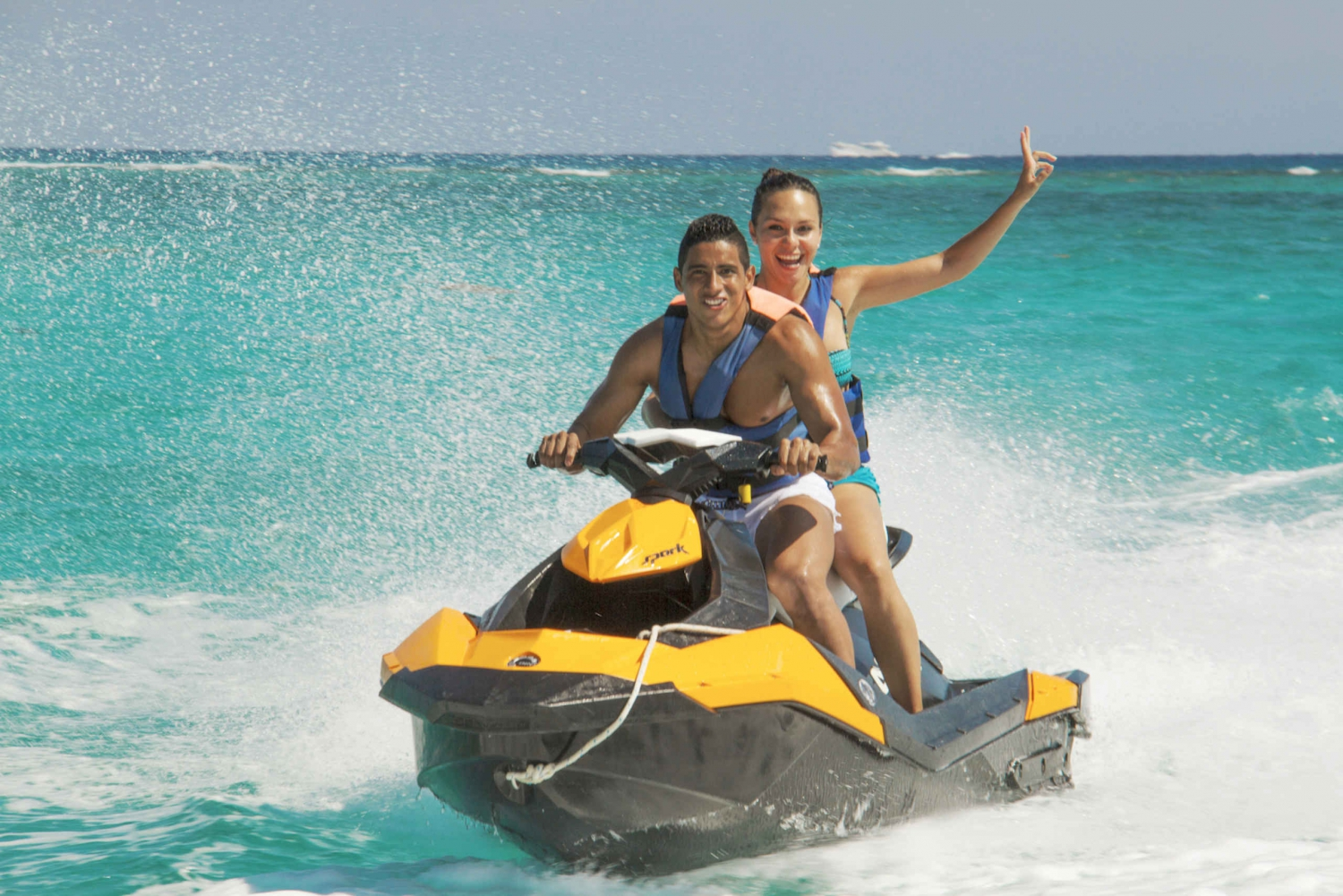 Caribbean Sea Waverunner Adventure