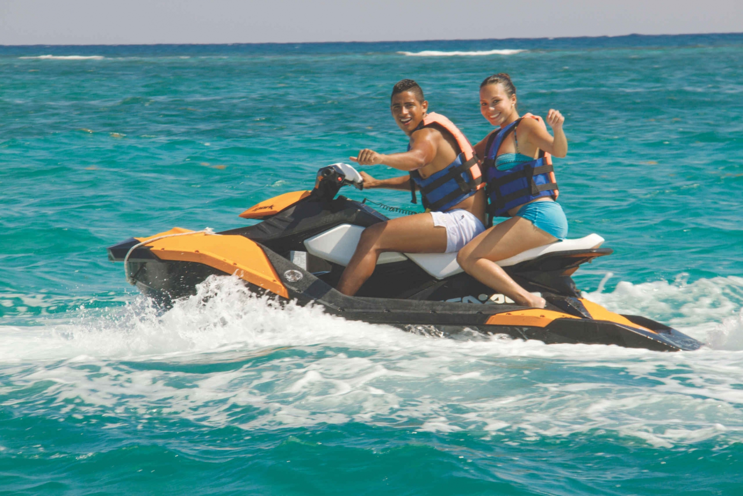 From Cancun and ATV and Jet Ski Adventure