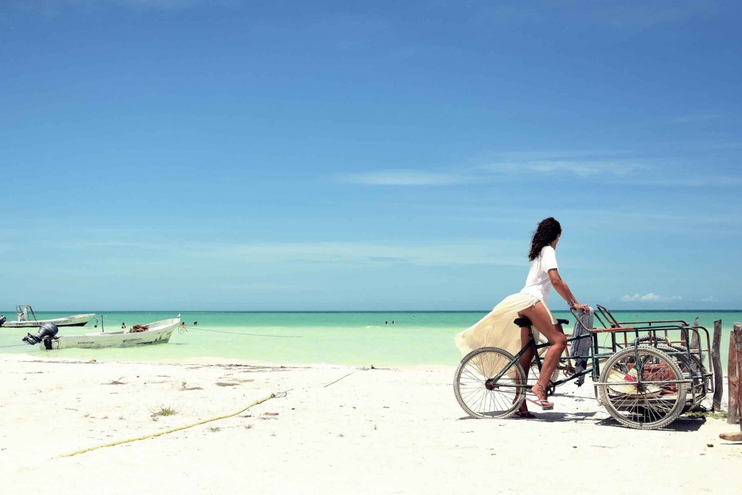 Holbox Island Discovery Tour with Transfer