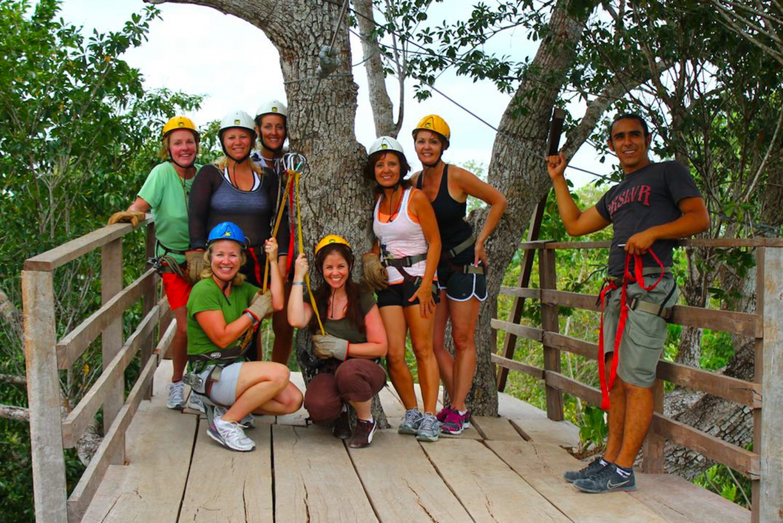 Jungle Ziplining & Horseback Riding Adventure Experience