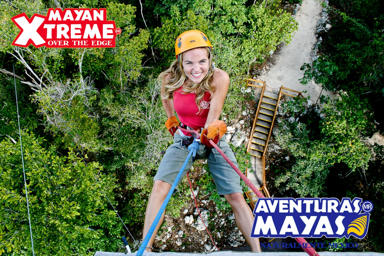Mayan Xtreme - Half Day Adventure Tour in Riviera Maya