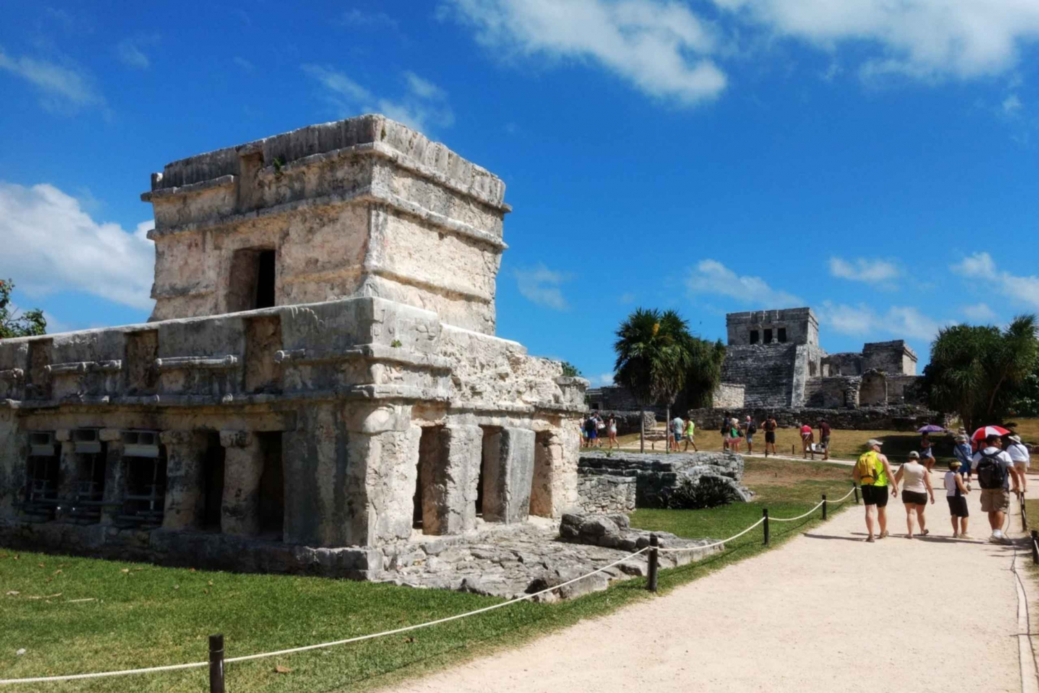 Playa del Carmen and Tulum Ruins Sunset Tour