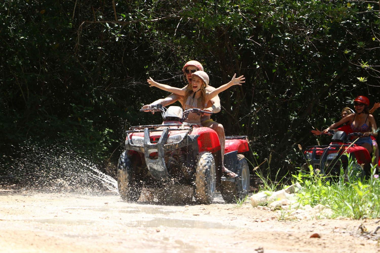 Playa Maroma: ATV Ride through the Mayan Jungle