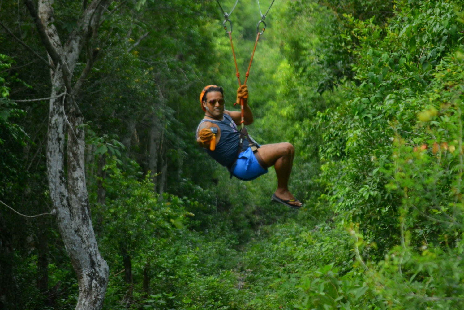 Riviera Maya Snorkel & Zip Line Adventure with Lunch