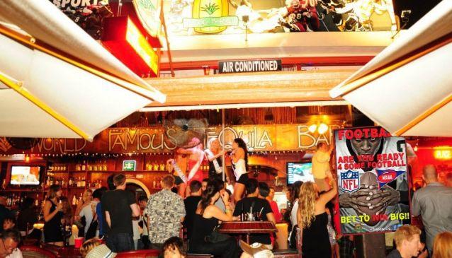 Tequila Barrel Bar