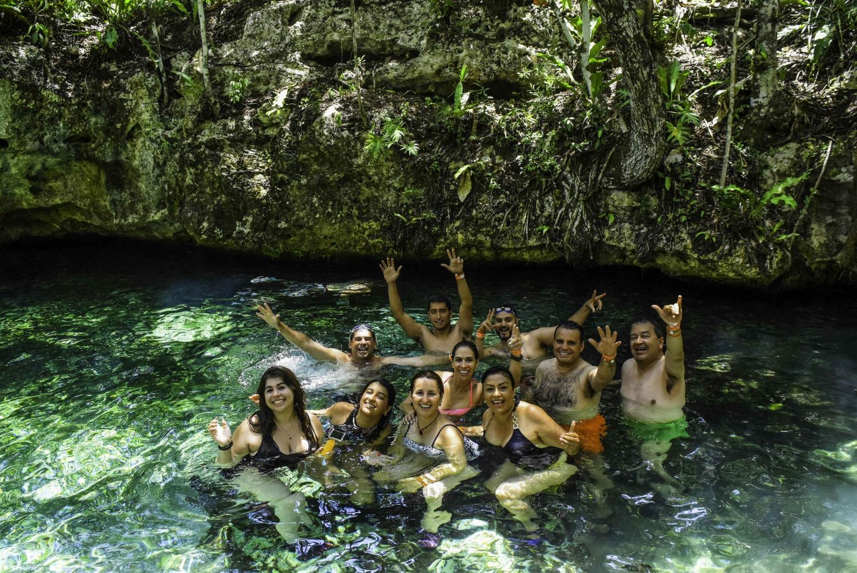 Tulum, ATV, and Open Cenote Tour