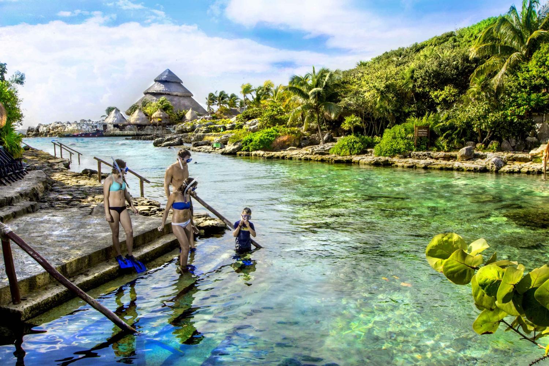 Xcaret Park Plus Tour from Cancun