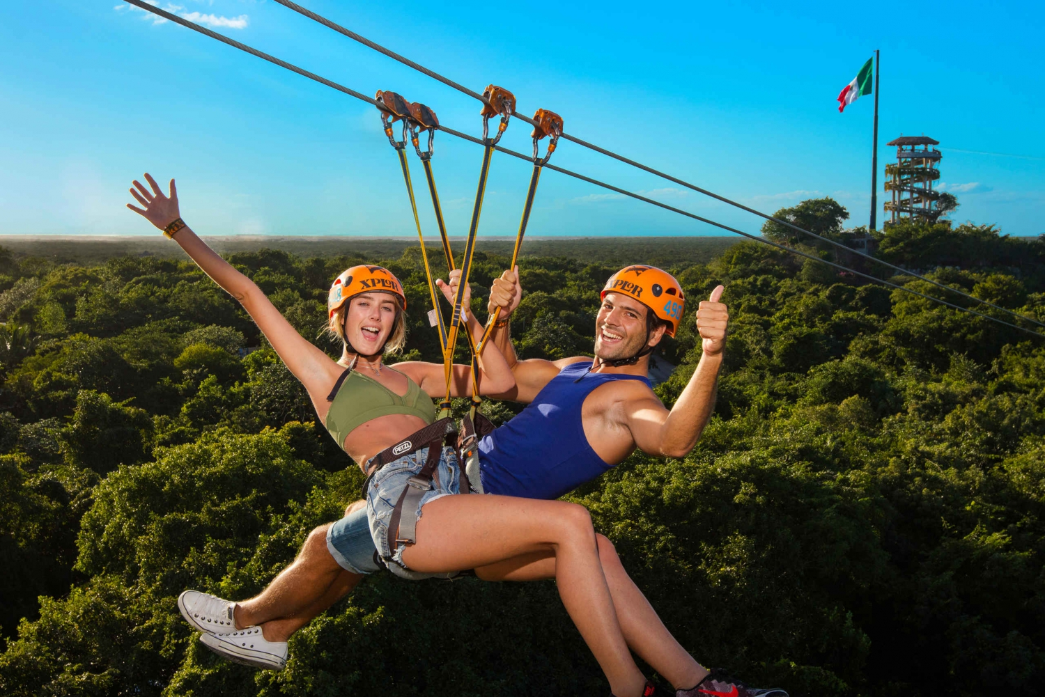 Xplor Park All-Inclusive Tour in the Riviera Maya
