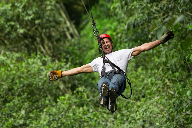 Zip-Line and Cenote Eco Adventure Tour