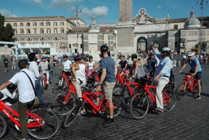 Highlights by Bike plus Colosseum Guided Tour