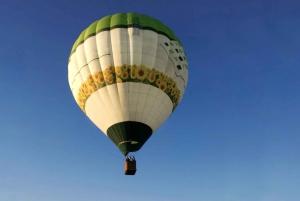 Hot-Air Balloon Flight over the Tiber Valley