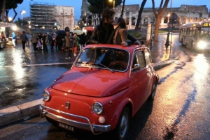 Romantic Night Tour by Classic Fiat 500
