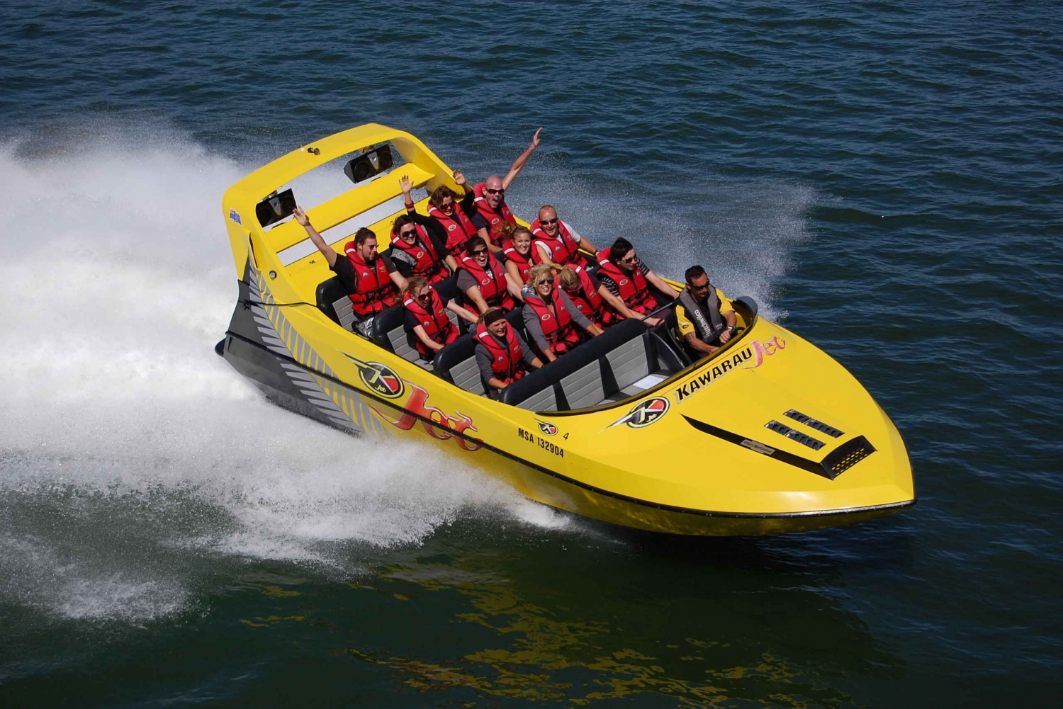 Lake Jet Boat, Speed, Spins and Adrenaline