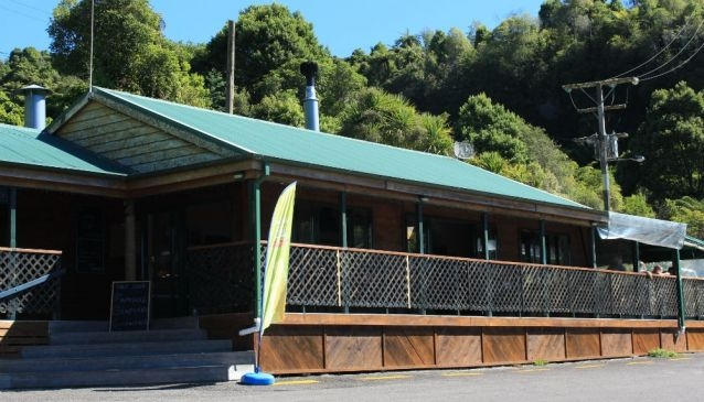 The Landing Cafe Lake Tarawera