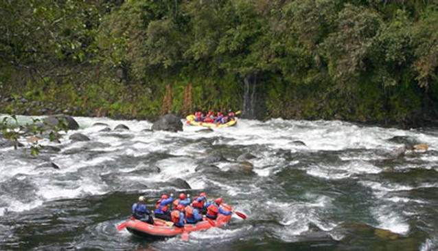 Tongariro River Rafting